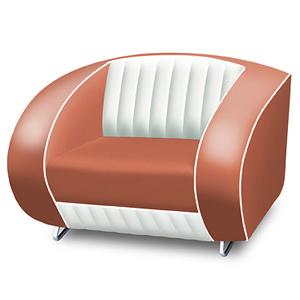 Bel Air Armchair Rose