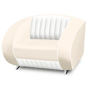 Bel Air Armchair Off White