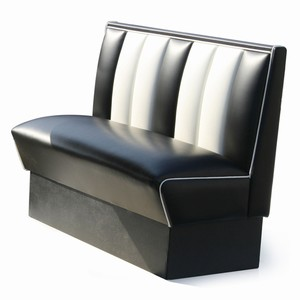 Hollywood Booth Seat Black