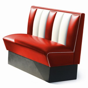 Hollywood Booth Seat Red