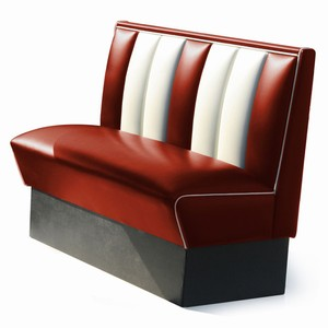 Hollywood Booth Seat Ruby