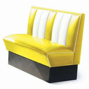 Hollywood Booth Seat Yellow