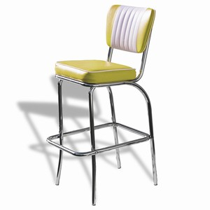 El Camino Diner Stool Yellow
