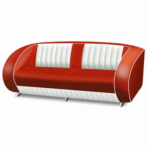 Eldorado Sofa Red