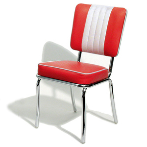 Shelby Diner Chair Red