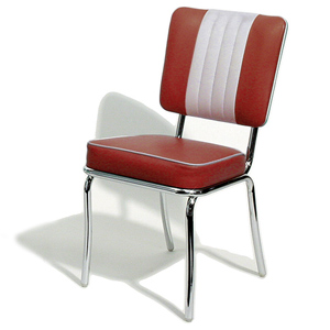 Shelby Diner Chair Ruby