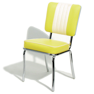 Shelby Diner Chair Yellow