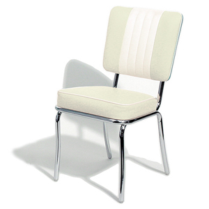 Shelby Diner Chair Off White