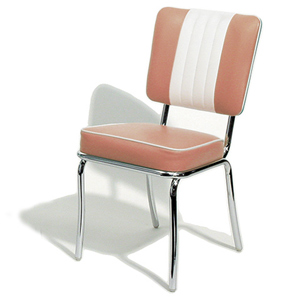 Shelby Diner Chair Rose