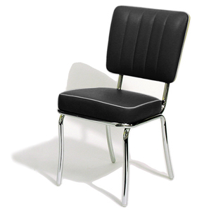 Mustang Diner Chair Black