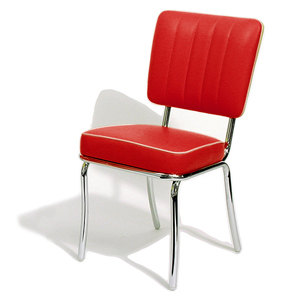 Mustang Diner Chair Red