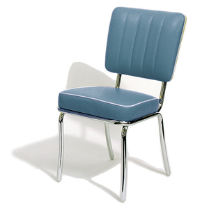Mustang Diner Chair Blue