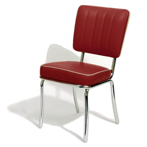 Mustang Diner Chair Ruby