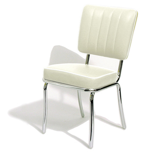Mustang Diner Chair Off White