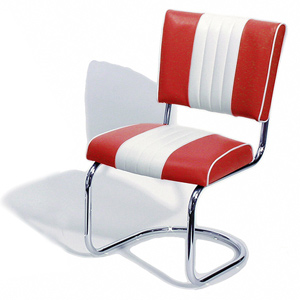 Cadillac Diner Chair Red