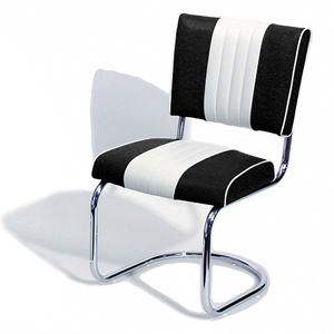Cadillac Diner Chair Black