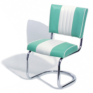 Cadillac Diner Chair Turquoise