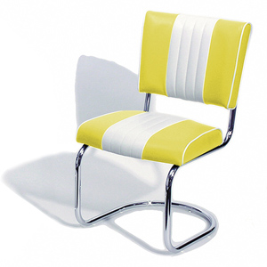 Cadillac Diner Chair Yellow
