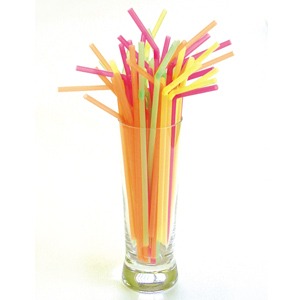 Flexi Straws Fluorescent