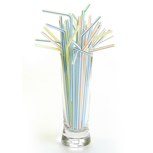 Flexi Straws Striped