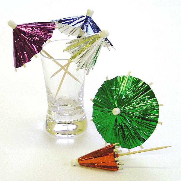 mini cocktail umbrellas cake ideas and designs