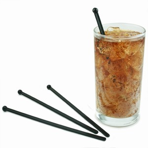 Flat Ball Stirrers Black