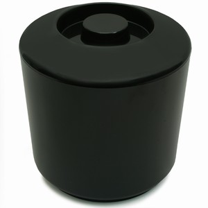 Round Ice Bucket Black