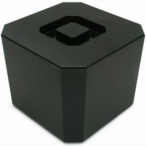 Octagonal Ice Bucket Black 4.5ltr