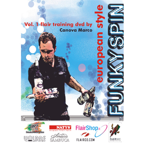 European Style Funky Spin DVD