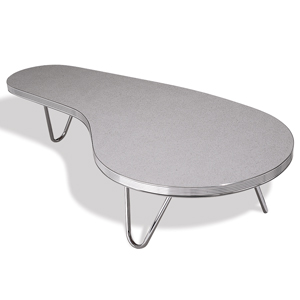 Monroe Coffee Table Grey Crackle