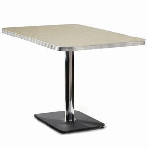 Hepburn Booth Table Antique White