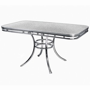 Presley Dining Table Grey Crackle