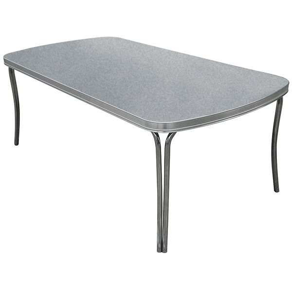 Dean Dining Table Grey Crackle Drinkstuff