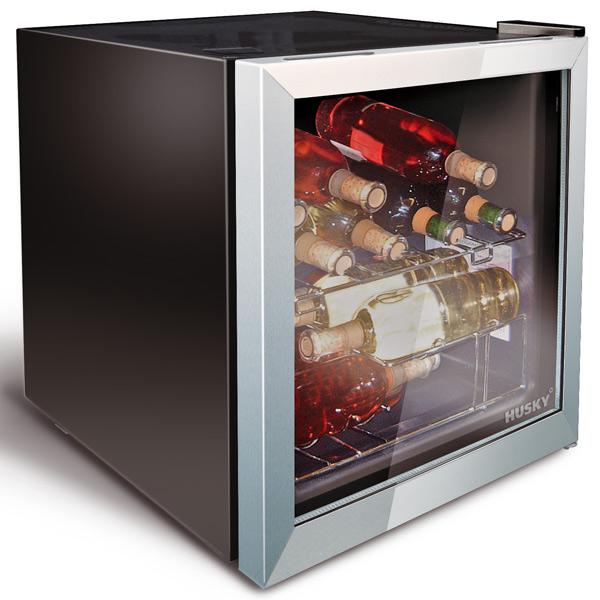 Wine Refrigerator Reviews >> Husky Wine and Drinks Refrigerator | Drinkstuff
