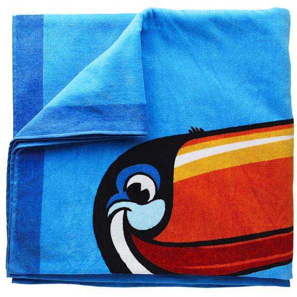 Guinness Toucan Mascot Tattoo: Guinness Toucan Beach Towel