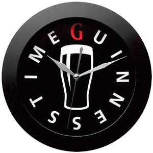 Guinness Pint Glass Clock