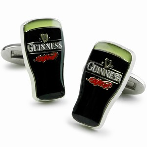 Guinness Pint Cufflinks