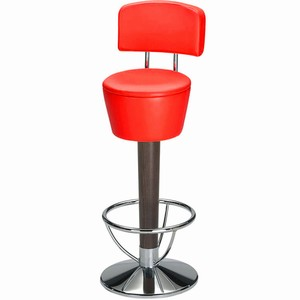 Pienza Commercial Bar Stool Red