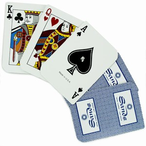 Used 'Sands' Casino Cards