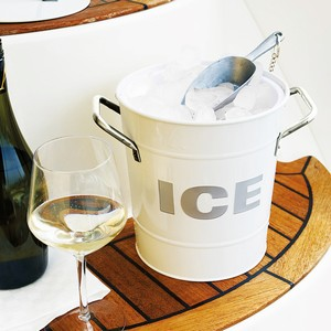 ICE Bucket White with Scoop