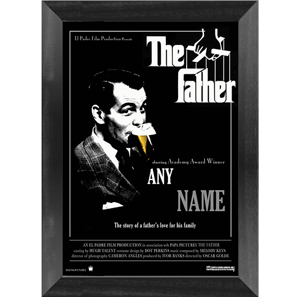 Custom Spoof Movie Poster - The Godfather