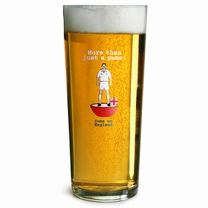 England Subbuteo Pint Glasses CE 20oz / 568ml