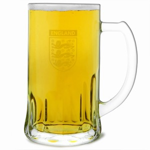 Official England Glass Tankard 20oz / 568ml