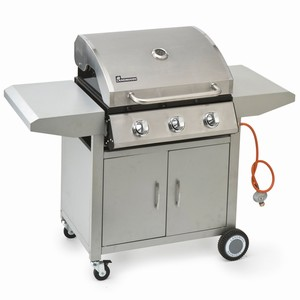 Three Burner Gas Wagon BBQ