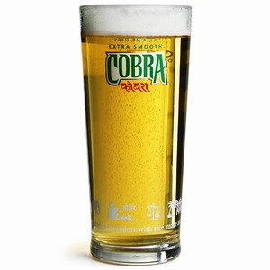 Cobra Pint Glasses CE 20oz / 568ml