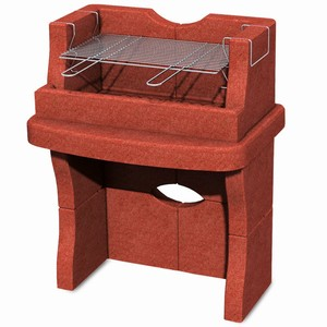 Taranto Masonry Charcoal Barbecue