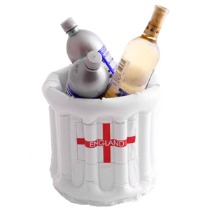 England Inflatable Beer Bucket