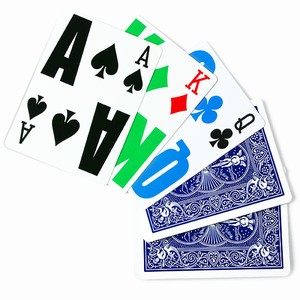 Bicycle EZ See LoVision Playing Cards Blue