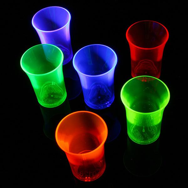 b36432172 Econ Neon Polystyrene Shot Glasses CE 1.25oz   35ml. Click ...