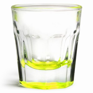 Casablanca Yellow Neon Shot Glasses 1.2oz / 35ml